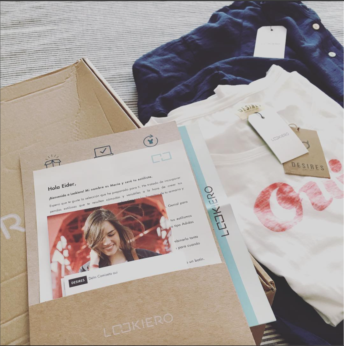 My first #lookiero experience 👍🏻 @lookiero #personalshopper  #fashion