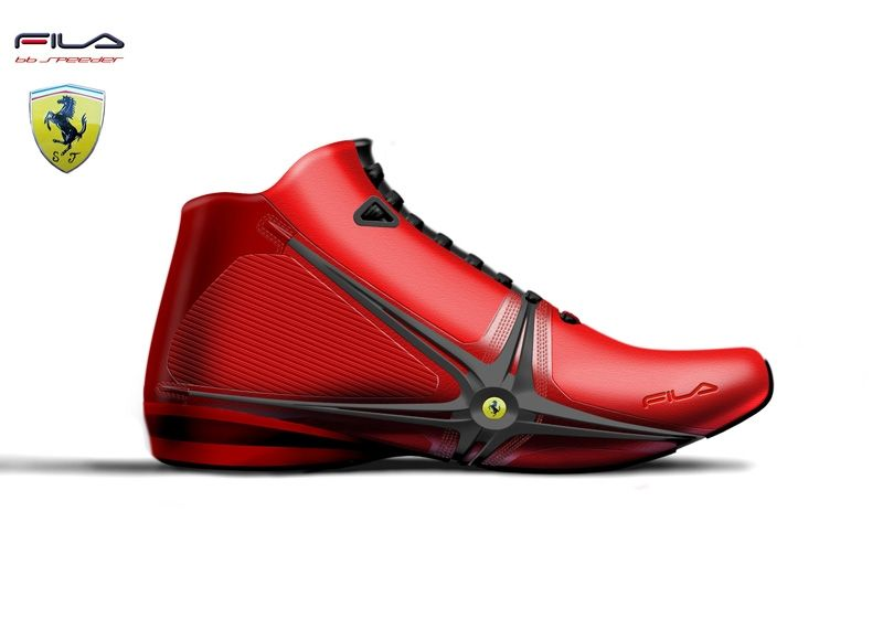 b713759d884 Motorsports footwear work for Fila Concepts and products for Ferrari,  Ducati and Michael Schumacher franchises.