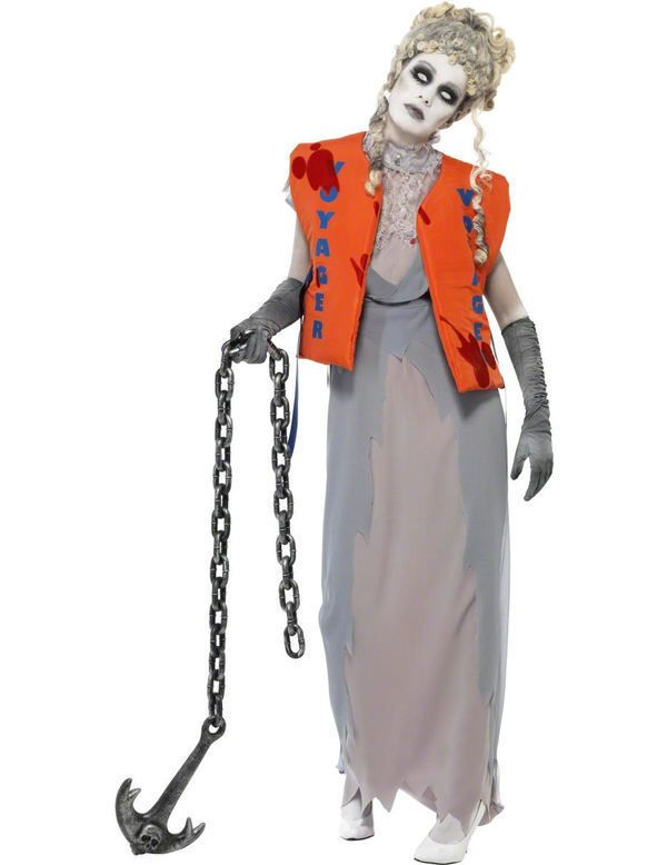 dd5763fe8f3a NEW LADIES' HALLOWEEN ZOMBIE LOST AT SEA COSTUME TITANIC Lifeboat SHIPWRECK  in Clothes, Shoes & Accessories, Fancy Dress & Period Costume, Fancy Dress  | ...