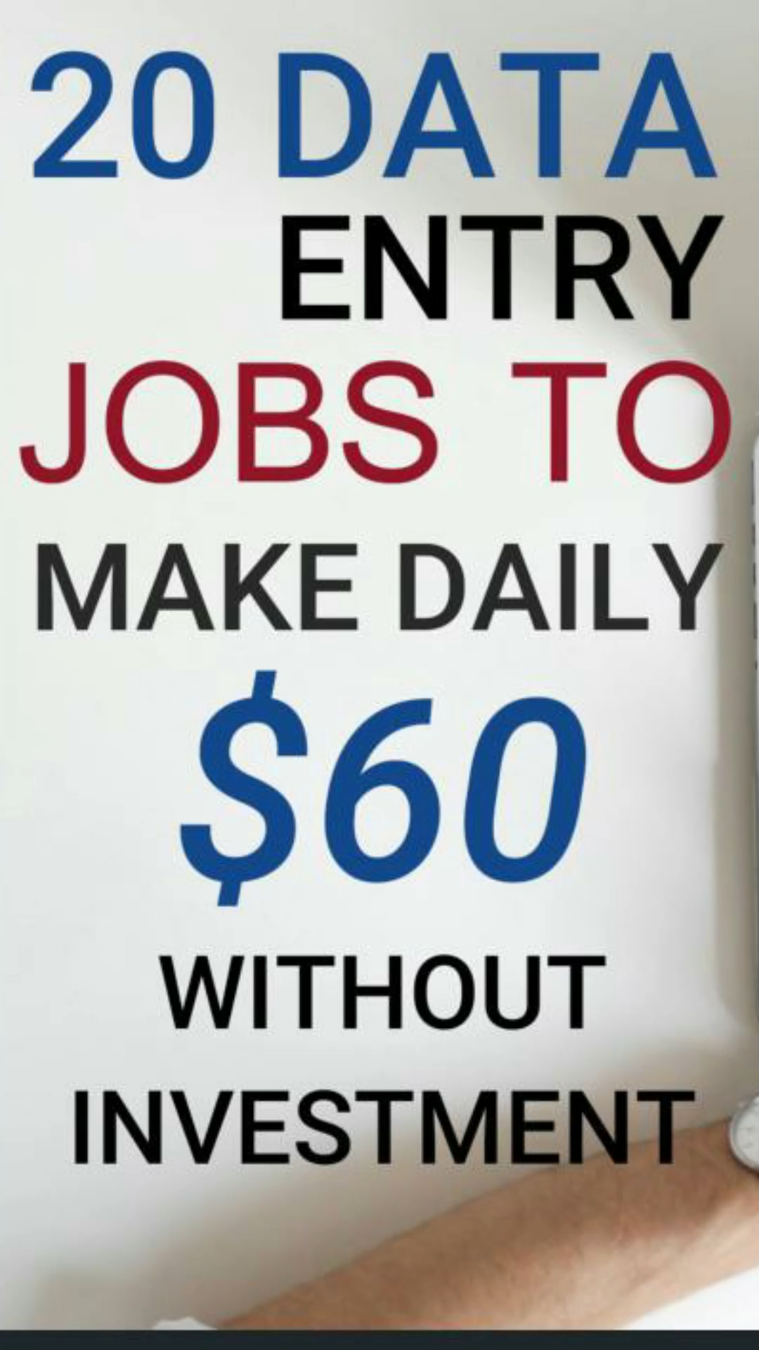 20 Data Entry Jobs To Make $60 Daily