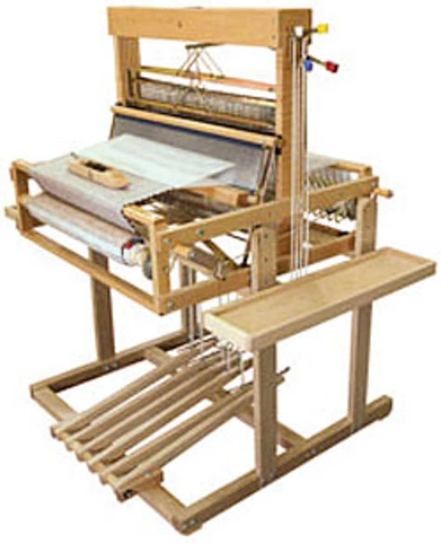 Leclerc Dorothy 24 Table Loom Stand 4 Shaft 6 Treadle W Side