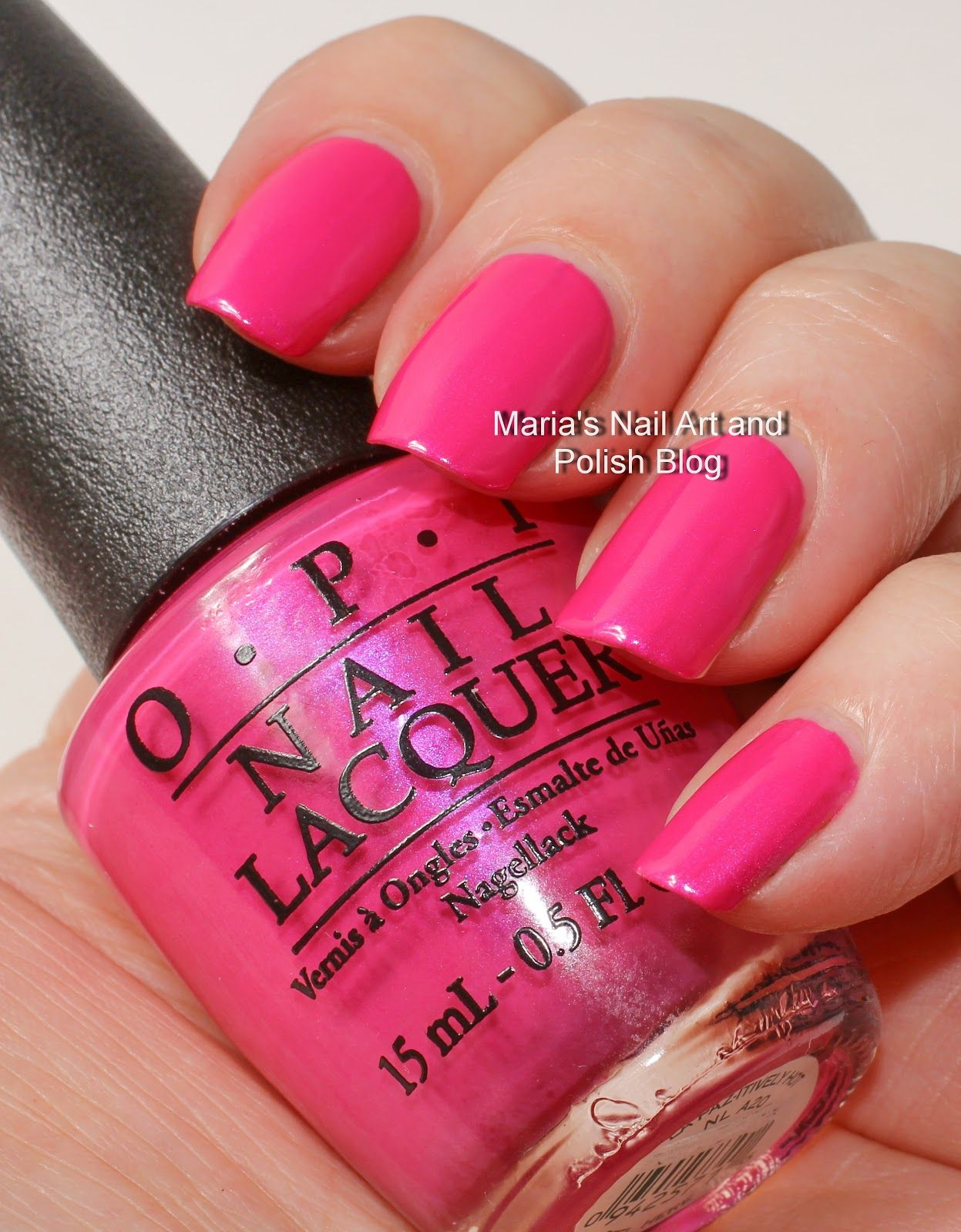 Opi La Paz Itively Hot And Matte Swatches