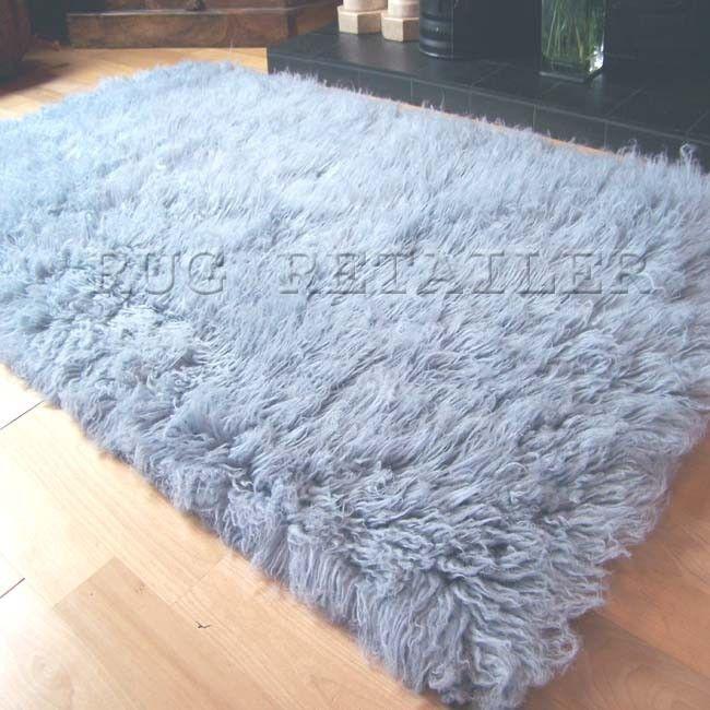 flokati rugs in duck egg blue nest pinterest duck. Black Bedroom Furniture Sets. Home Design Ideas