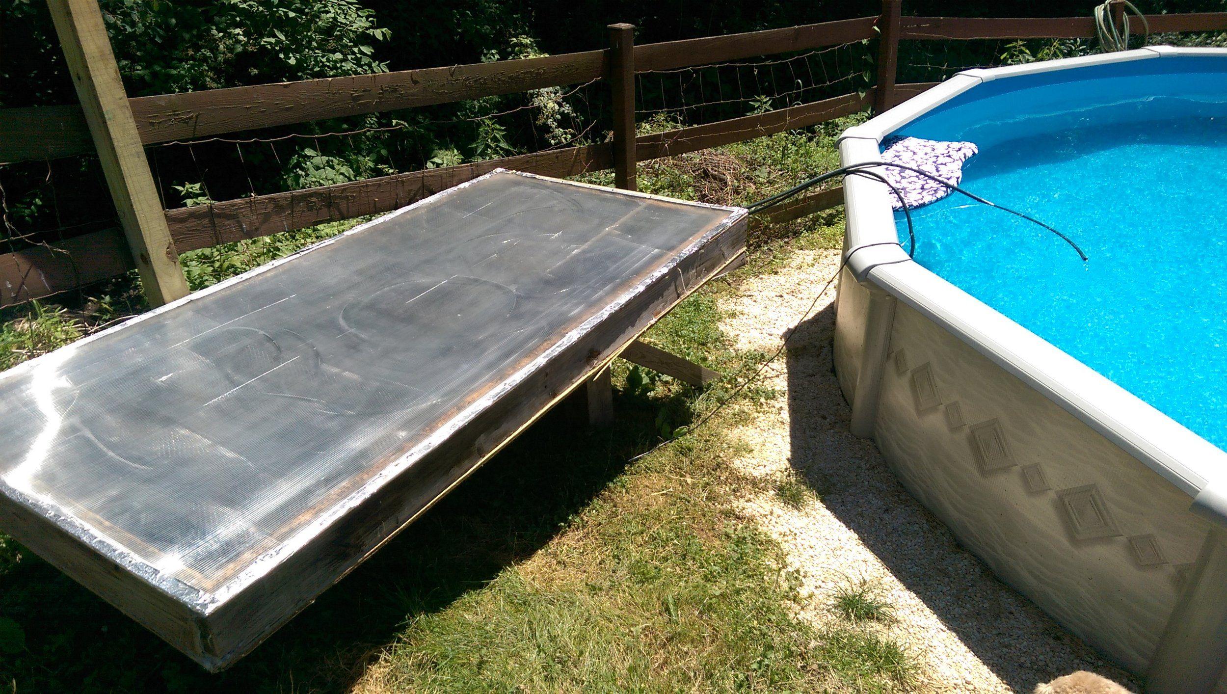 Solar Pool Heater DIY Solar powered by