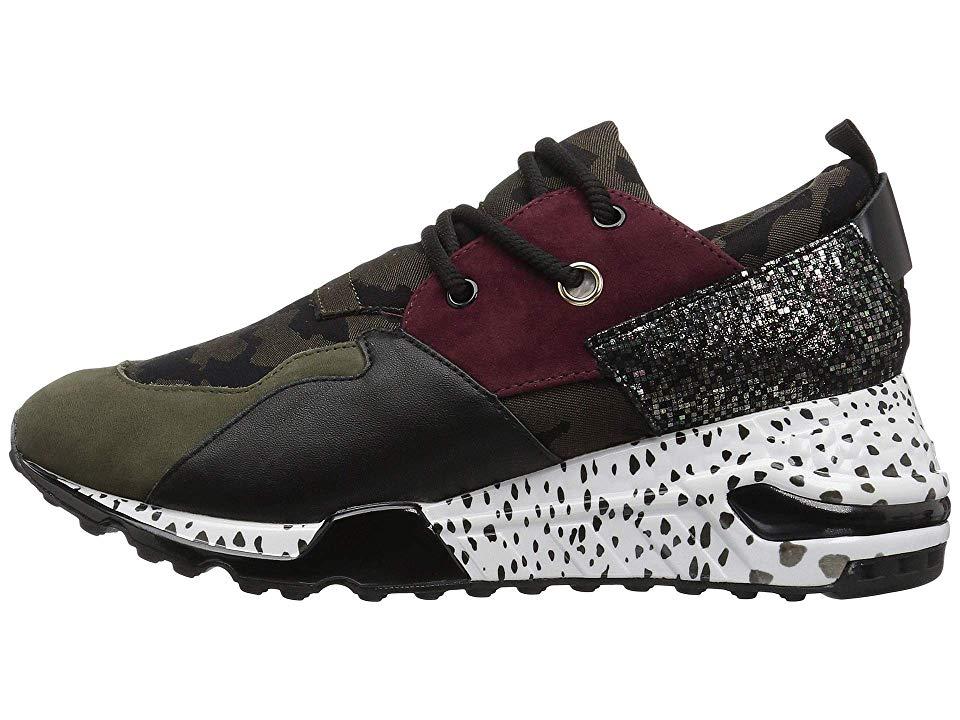 c928839d93c Steve Madden Cliff Sneaker Women s Shoes Olive Multi