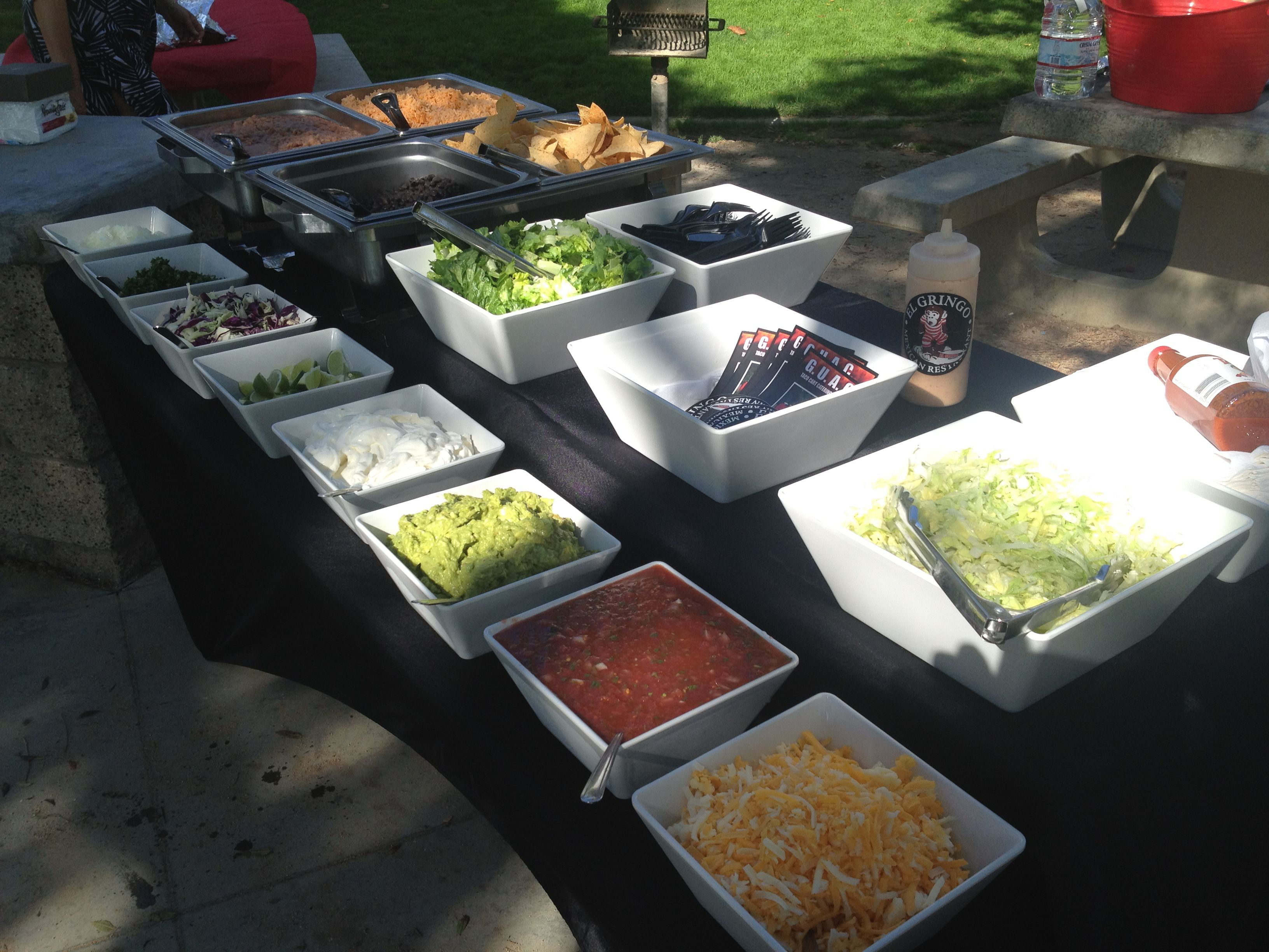 Taco Bar Seriously Thinking If Doing This For The Wedding