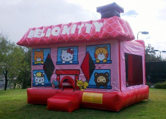 Hello Kitty Moonwalks Rentals Bounce House Austin San