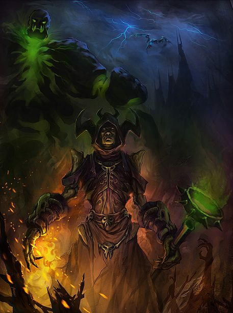 Goblin Warlock Wow Artwork World Of Warcraft Fan Art