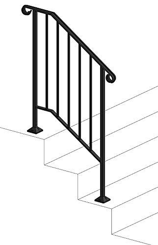 Best Diy Iron X Handrail Picket 2 Fits 2 Or 3 Steps Iron X Ha Https Www Amazon Com Dp 400 x 300