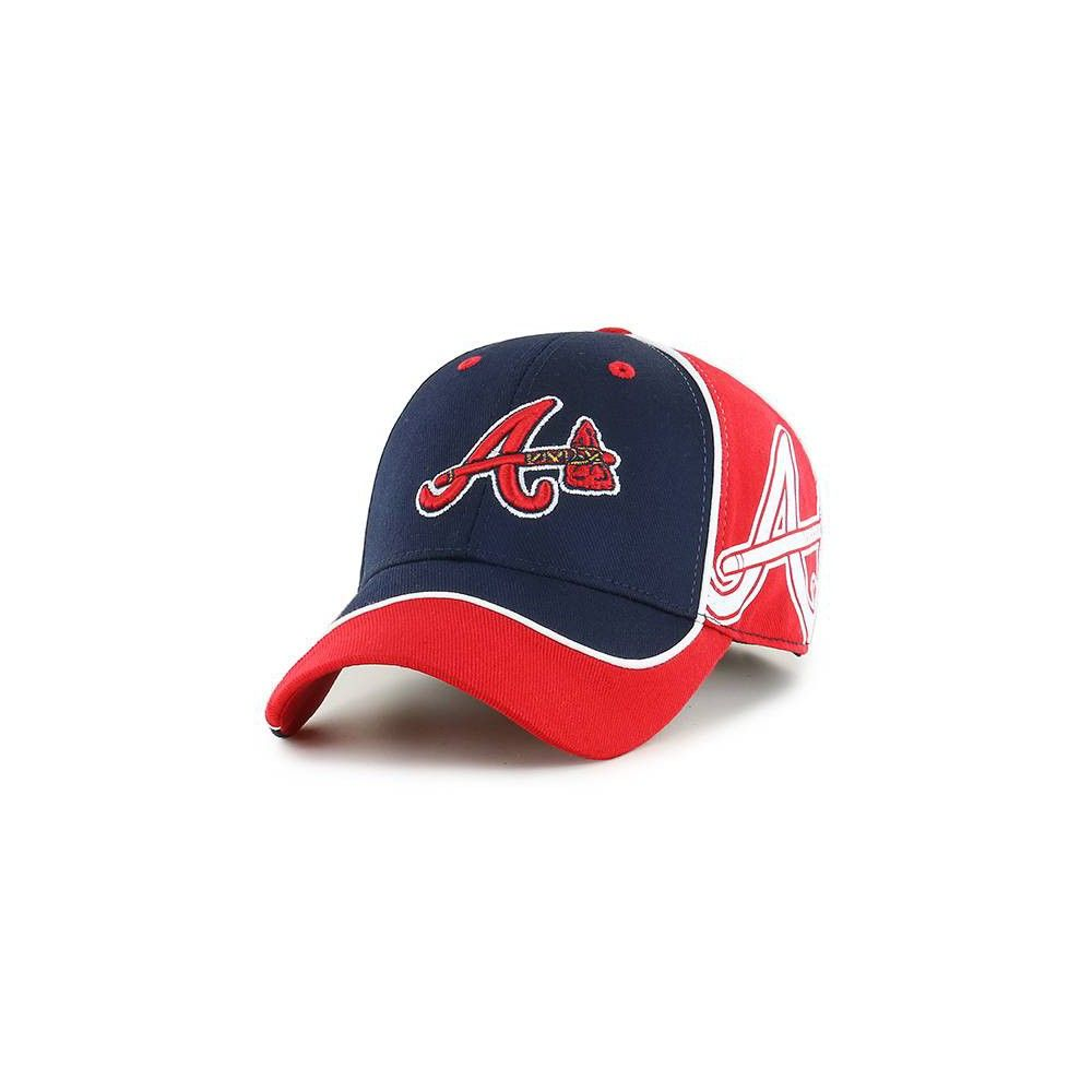 Mlb Boys Atlanta Braves Exaggerate Hat Kids Unisex Size One Size Atlanta Braves Boston Red Sox Hats Online