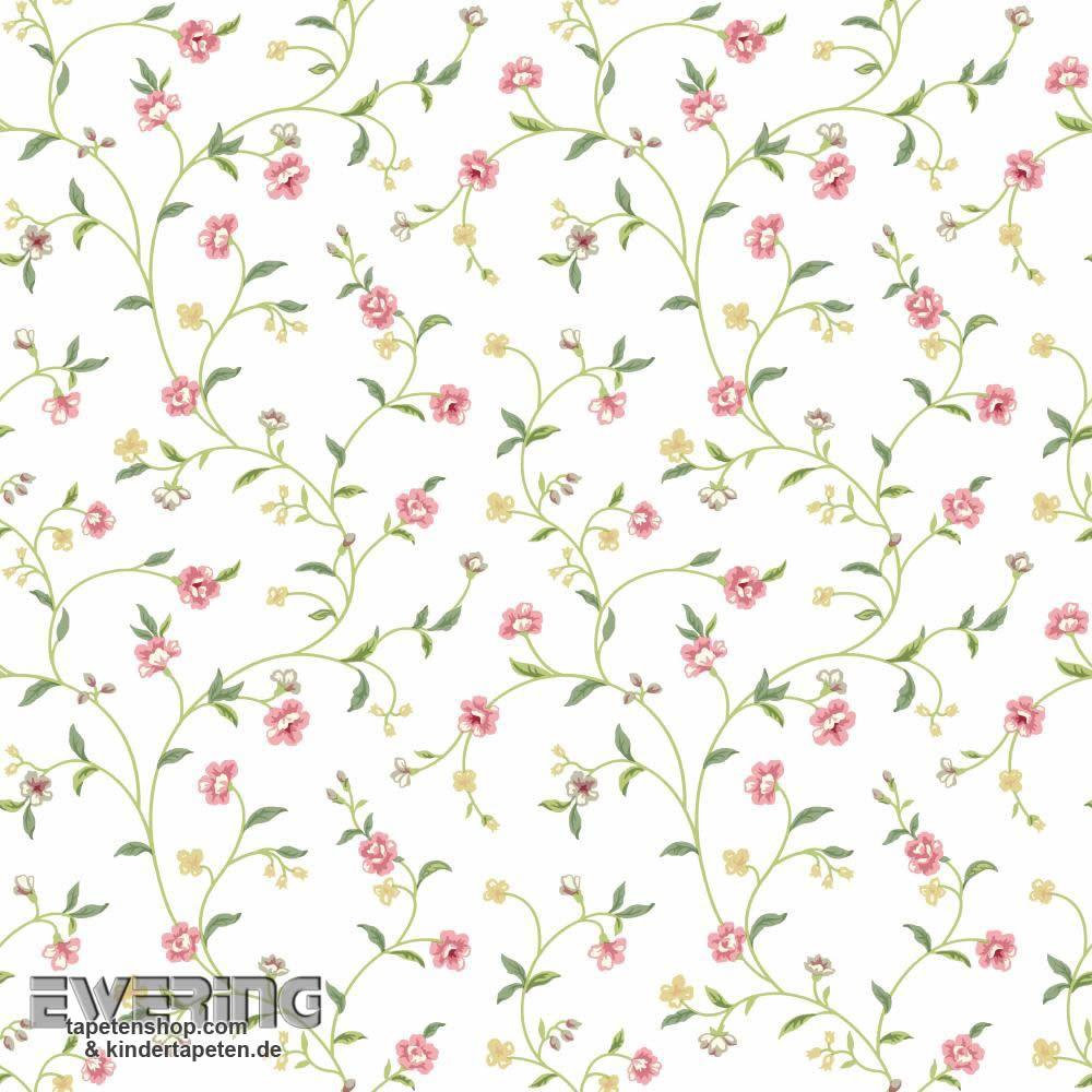 23 326658 waverly small prints rasch textil gr n ranken muster waverly small prints von rasch. Black Bedroom Furniture Sets. Home Design Ideas