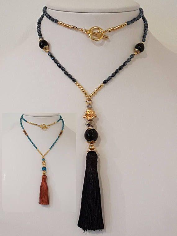 f59a6d4e0568 Collar Largo de Buda y Borla