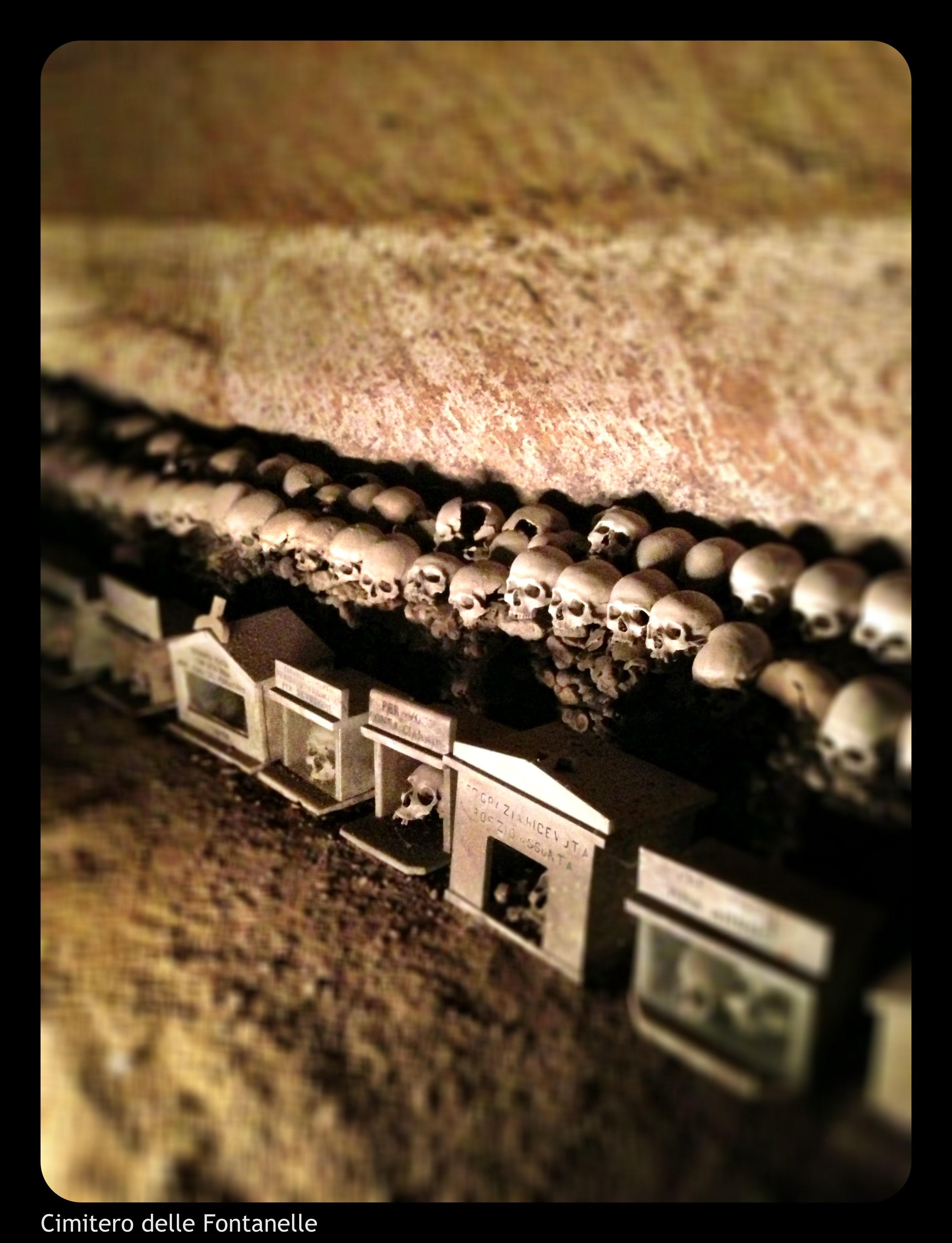 "Naples #naples #italy- cimitero detto ""delle fontanelle"""