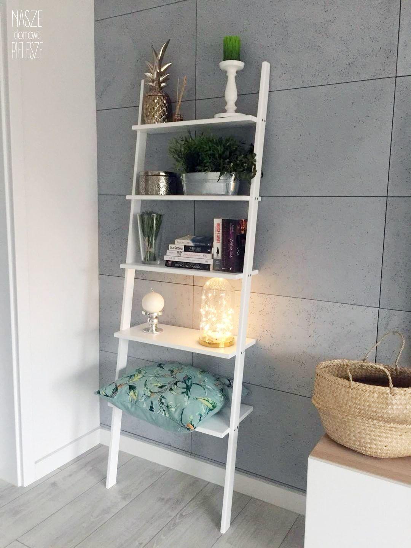 Drabinka Polka W Salonie Home Decor Decor Shelves