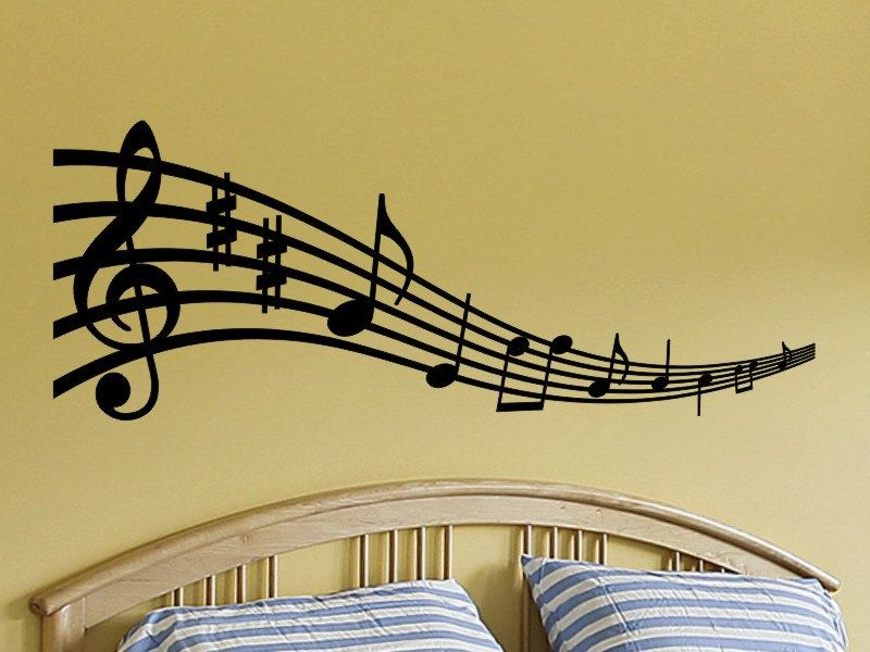Old Fashioned Musical Notes Wall Decor Photo - Art & Wall Decor ...
