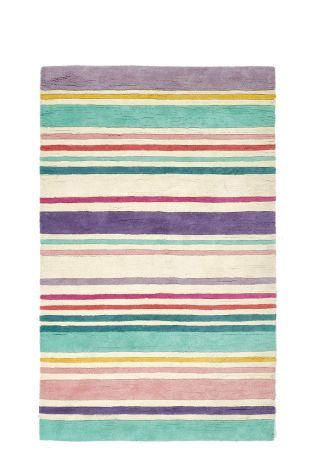 Pastel Stripe Rug From The Next Uk Online
