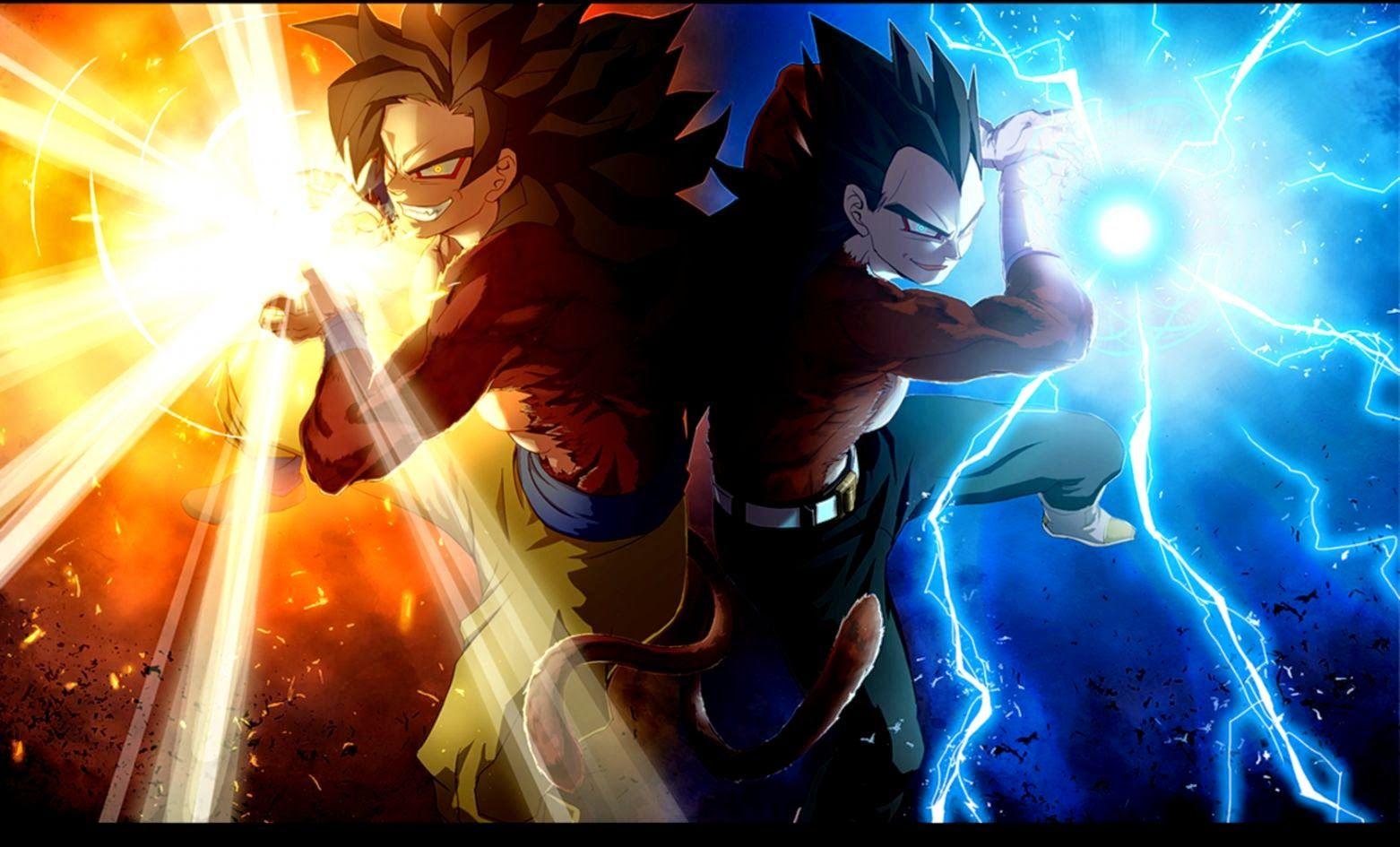 Vegeta Son Goku Dragon Ball Fusion HD Wallpaper Anime Amp Manga