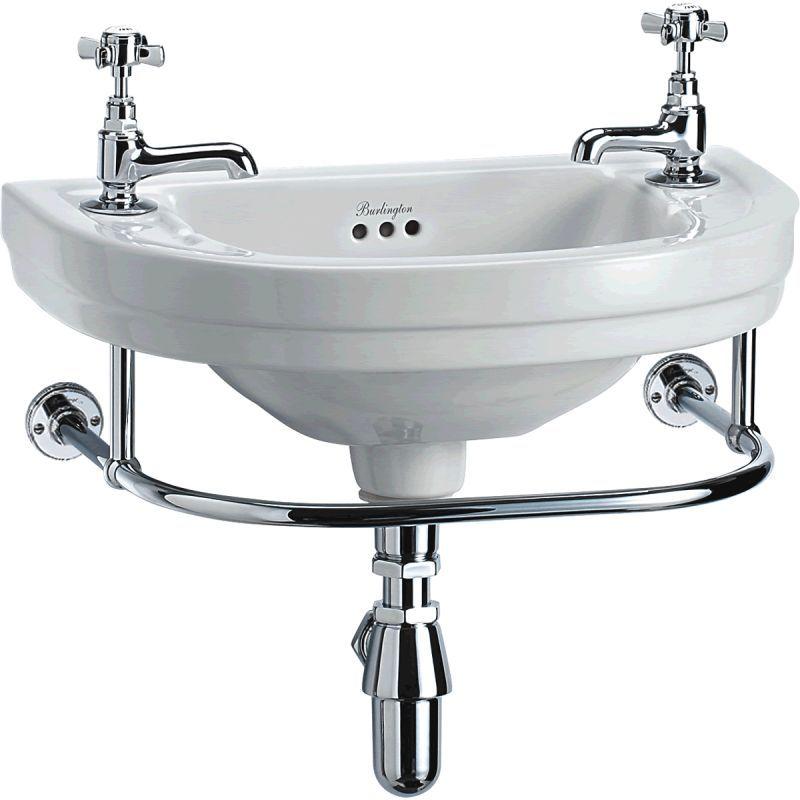Bathroom Burlington Ideas burlington round cloakroom basin - burl053 (b11). traditional
