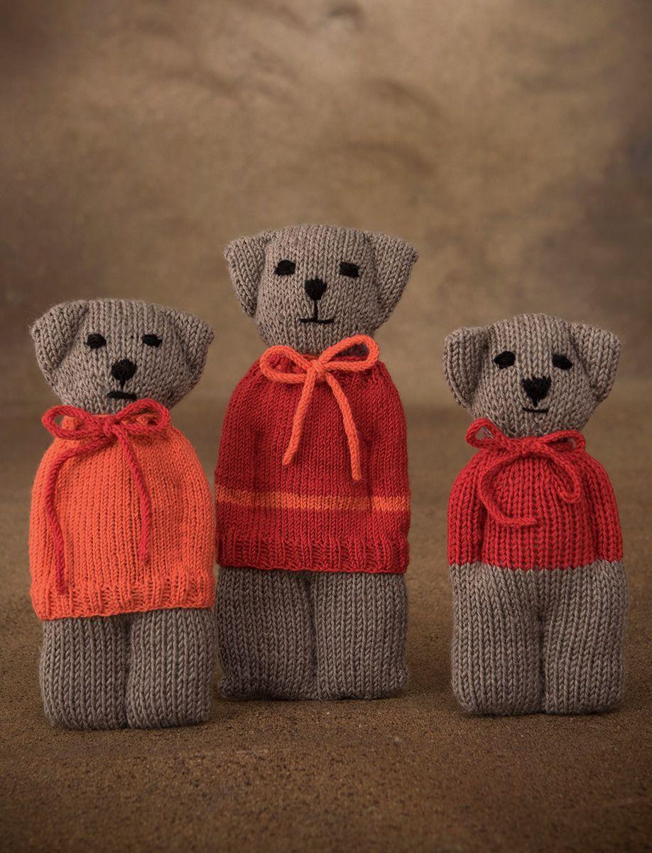 Photo of Lana Grossa BÄRENFAMILIE Coole Wolle Big / Cool Wool Baby – FILATI INFANTI Nr. 14 – Modell 33-35 | FILATI.cc Online-Shop