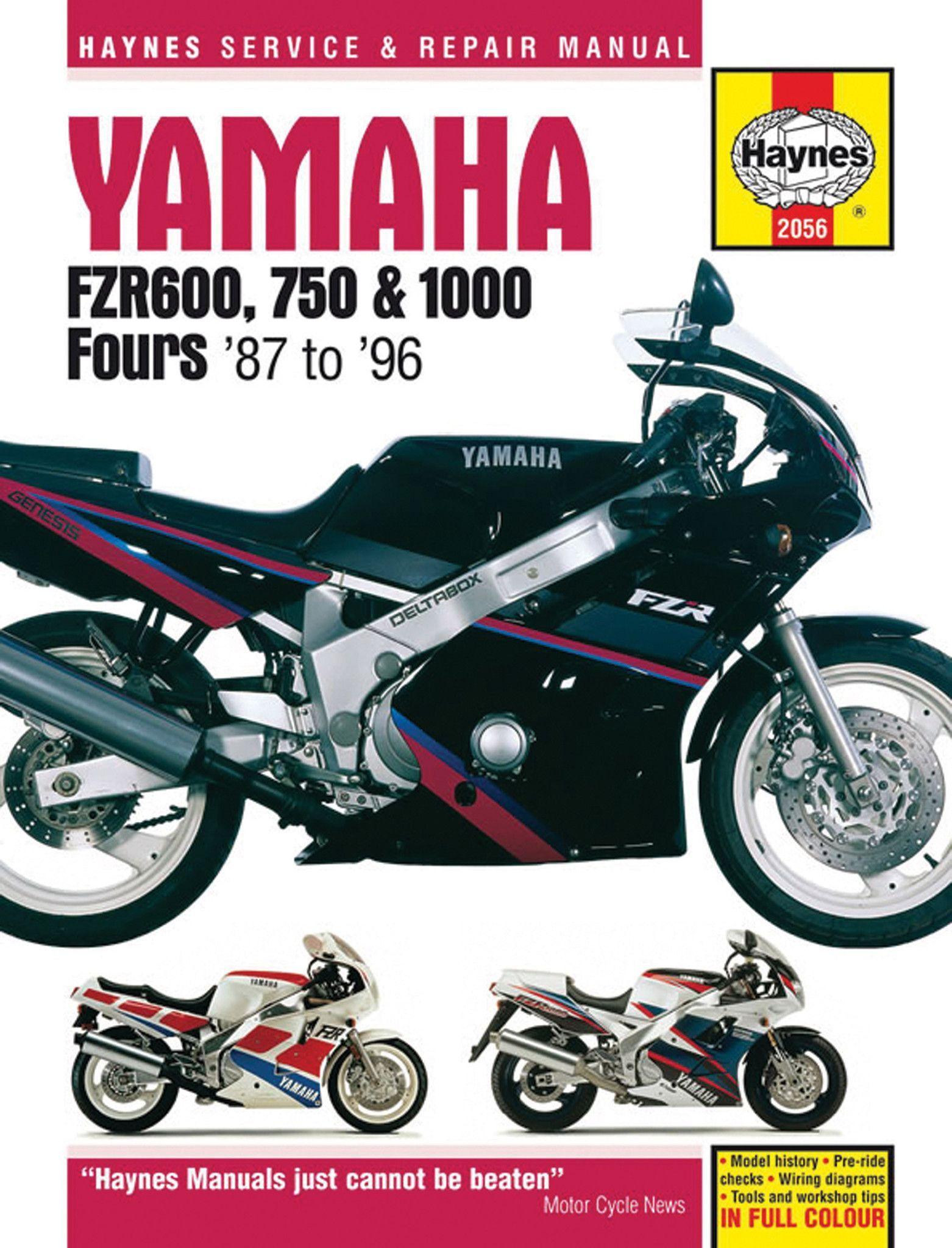 medium resolution of haynes service manual for yamaha fzr600 fzr750 fzr1000 m2056 wiring diagram needed for 1989 yamaha fzr1000 genesis