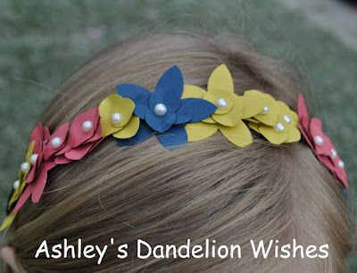how to make dandelion crown