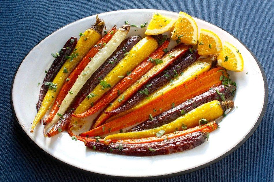 Roasted Rainbow Carrots 2