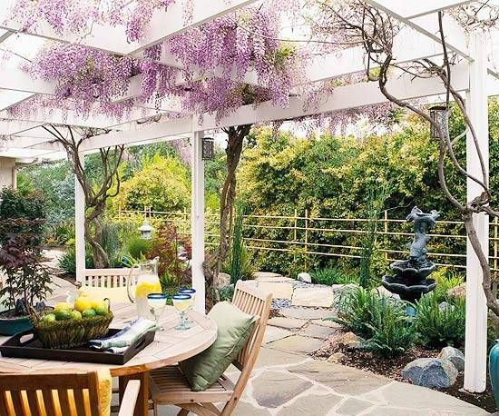 22 Beautiful Garden Design Ideas, Wooden Pergolas and