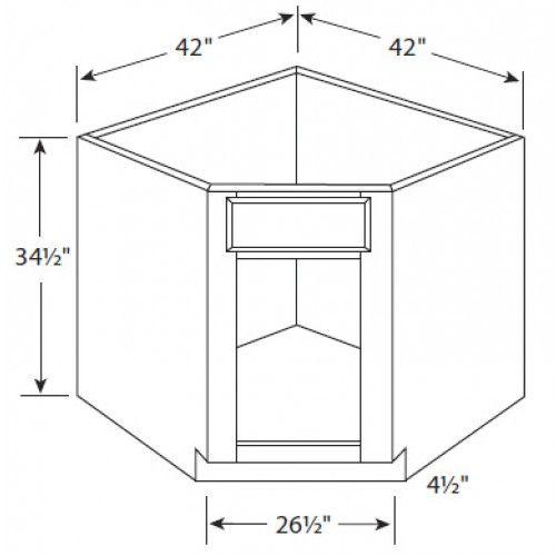 20 Corner Base Kitchen Cabinet Magzhouse, Kitchen Corner Cupboard Dimensions