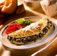 Spinach Pesto Omelet