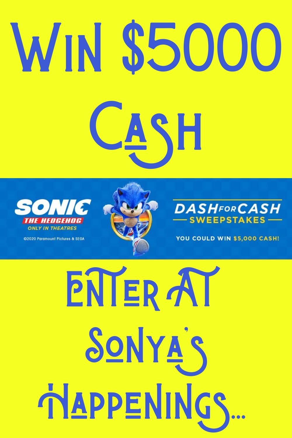 Enter to win 5000 cash sweeps ends 3620 in 2020