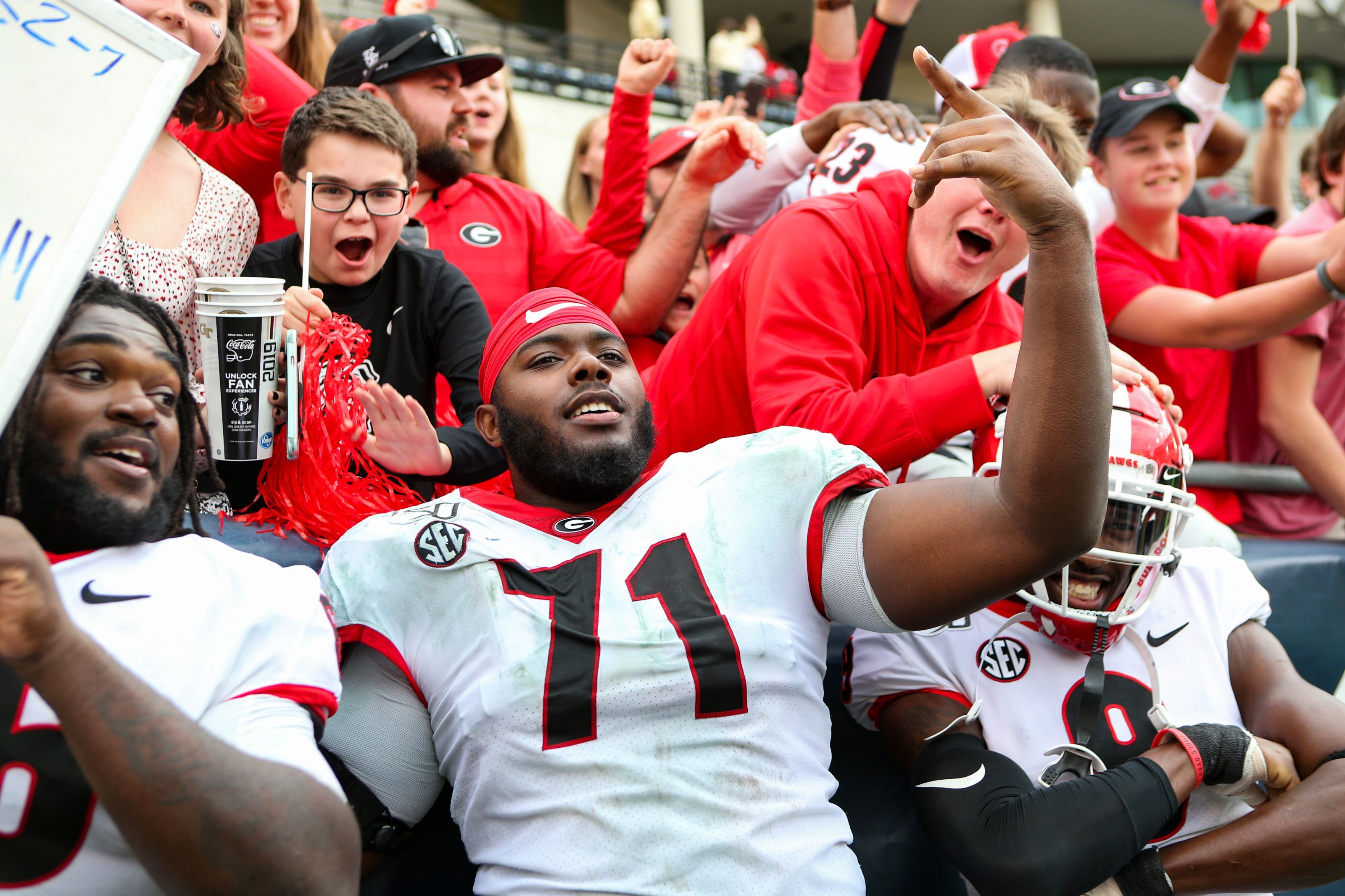 Georgia Offensive Tackle Andrew Thomas Declares For The 2020 Nfl Draft National Football League News Nfl News Arizona Cardinals Nfl
