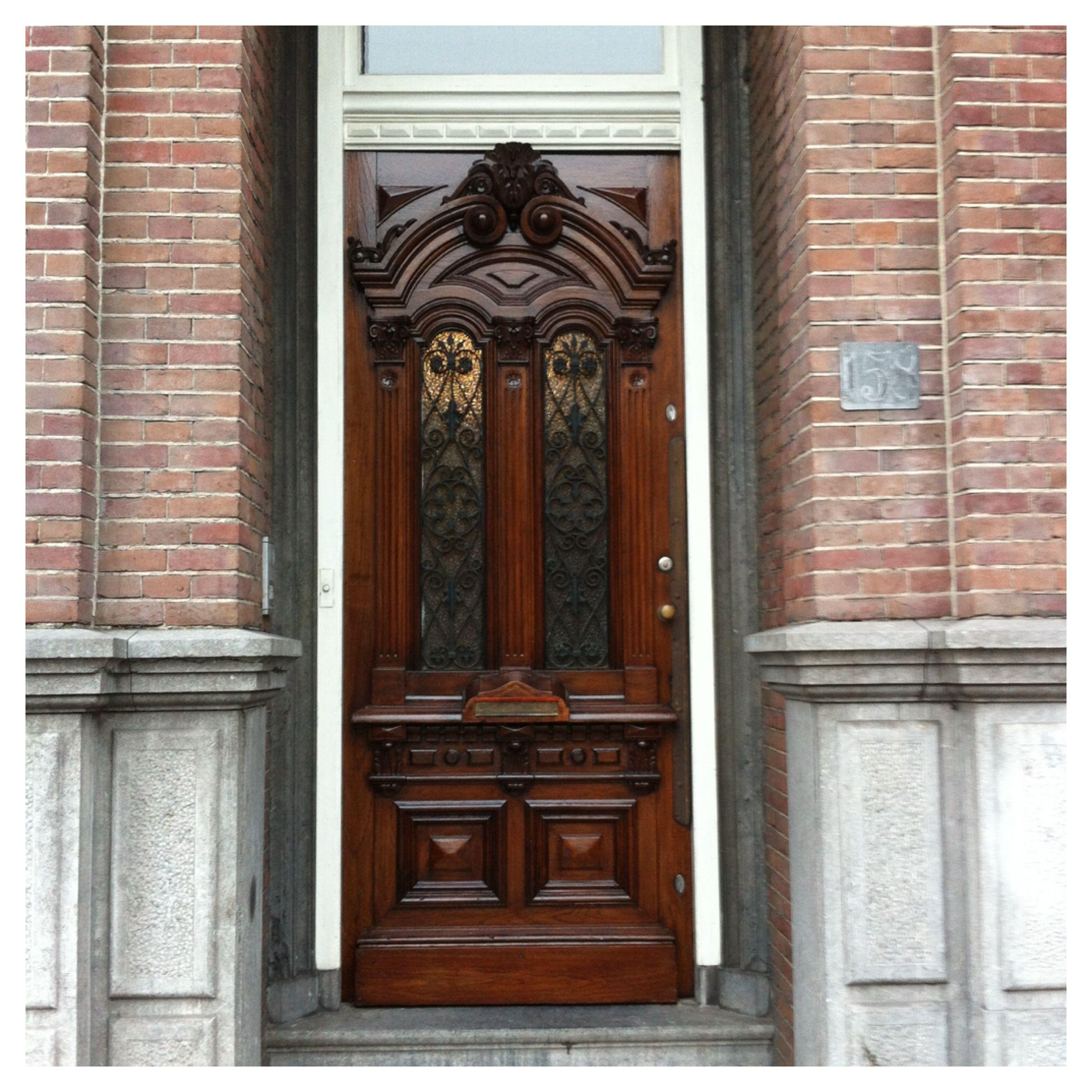 antieke voordeur