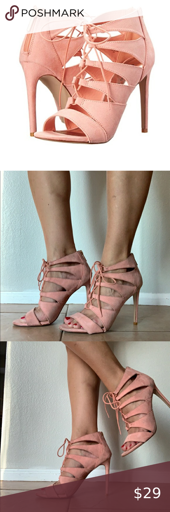 madden girl lace up heels• in 2020
