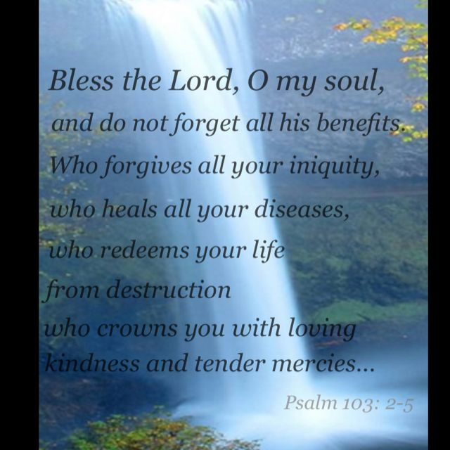Image result for Psalms 103:2-5