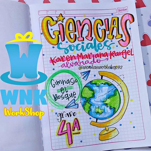 W N K Workshop Wonkasworkshop92 Fotos Y Videos De Instagram En 2020 Cuadernos Creativos Marcas De Cuadernos Caratulas Para Cuadernos Escolares