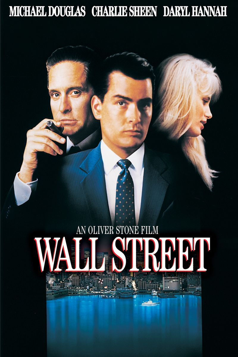Wall Street 1987 A Young Stockbroker Begins To Climb The