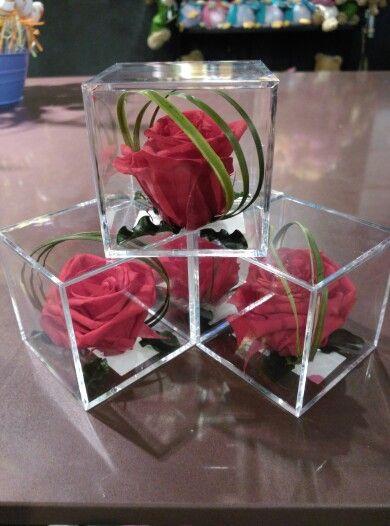 Rosas Preservadas En Caja Transparente Sellada El Detalle