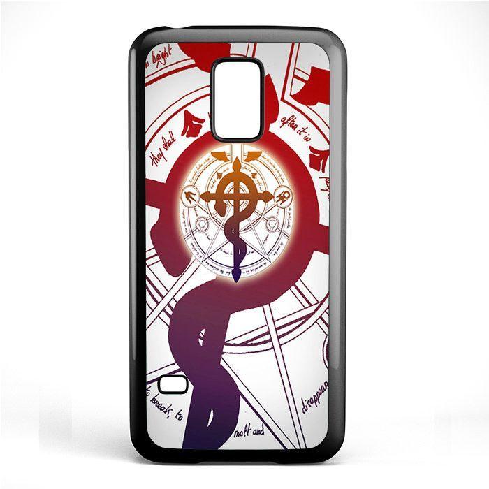 Alchemist Fullmetal Symbol Tatum 455 Samsung Phonecase Cover Samsung