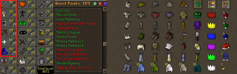 osrs account combat level 120 id20180920lw120 runescape in