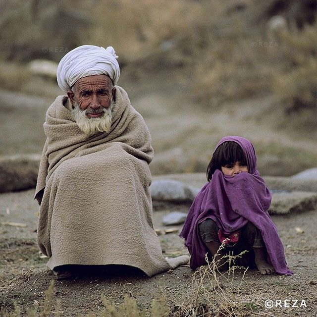 Photo: @rezaphotography | On the Road to Exile | #Afghanistan, 1983. The war against the Soviet invaders raged for four years. Towns and villages, plains and countryside were all the theater for the terrors of this unequal struggle. The Russian soldiers were gaining ground. Men, women and children who were fleeing the combat zones had to hurry along roads full of natural obstacles, such as the Konar River. People swarmed onto makeshift crafts and, in the scramble, some died, trampled or…