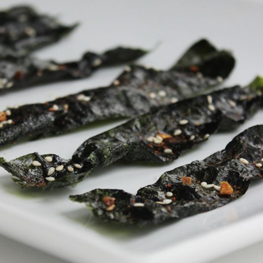 Skip the Chips, and Crunch on Paleo Seaweed Snacks. It might be nice :)
