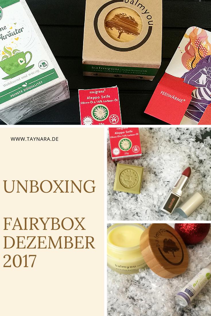 Geschenkidee für die beste Freundin - FairyBox Dezember