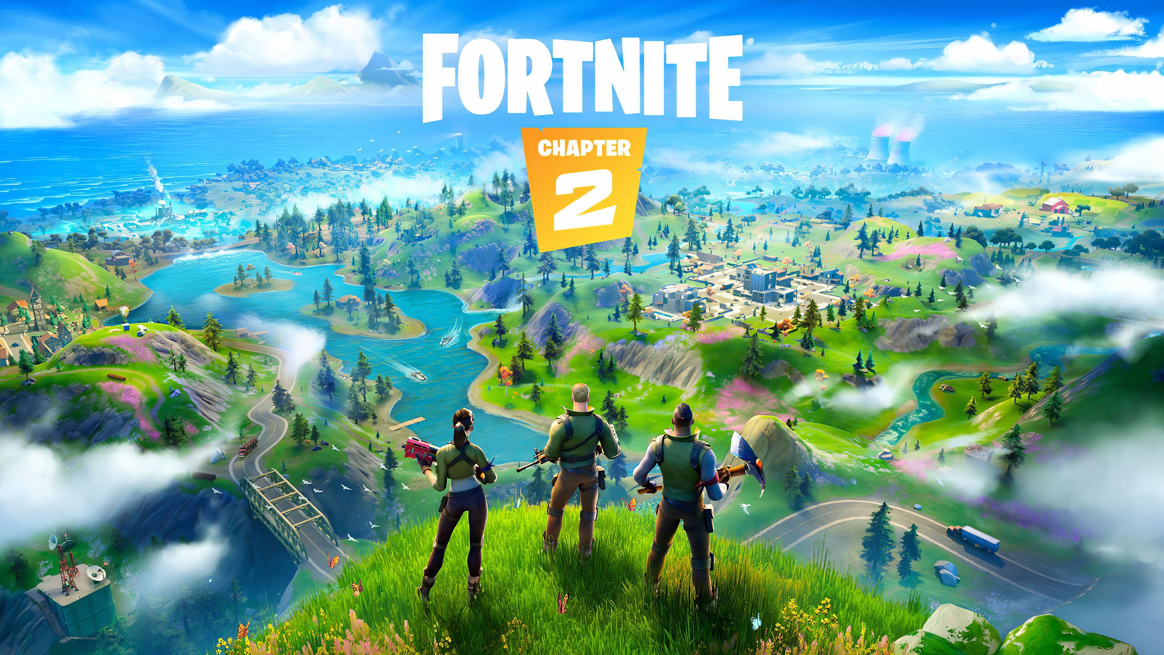 Wallpaper 4k Fortnite Chapter 2 2019 2019 Games Wallpapers 4k