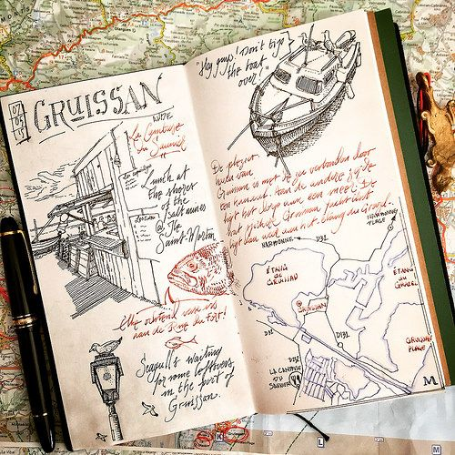 Gruissan Plage | by dessinauteur