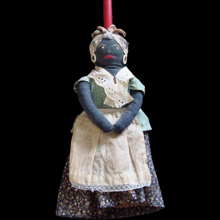 Black Americana - Mammy Broom Doll: 614-62: Removed