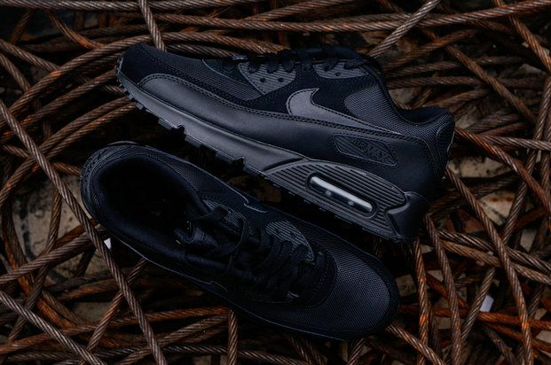 fb1ce1428d180 How To Buy Nike Air Max 90 Essential All Black 537384-090 Nike Air ...