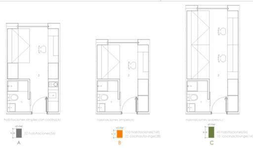 Residencia modular de estudiantes