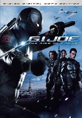 G.I. Joe: The Rise of Cobra (DVD 2009 2-Disc Set Includes Digital Copy) Channing Tatum