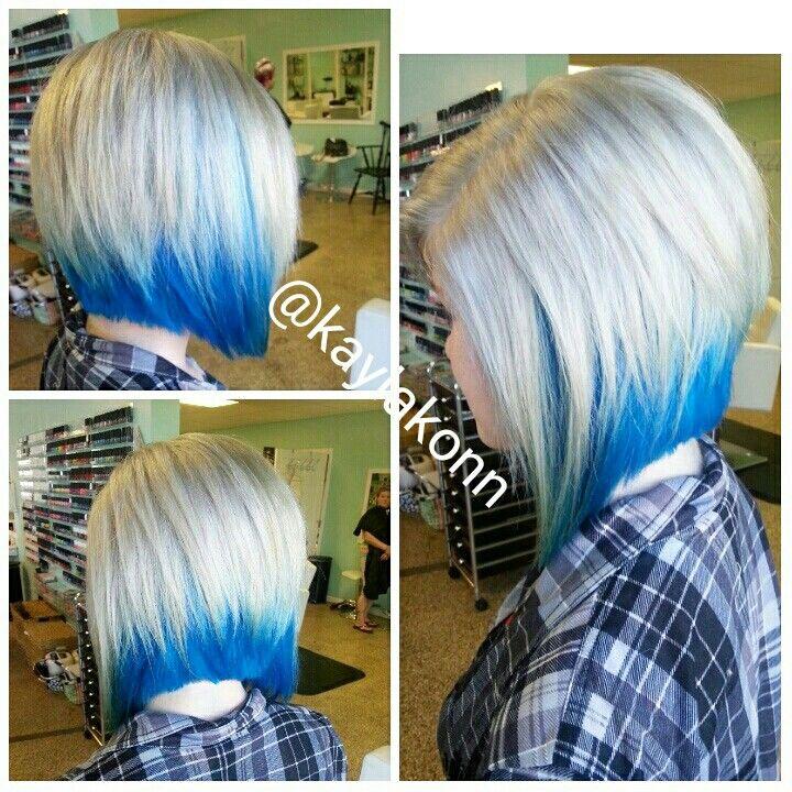 Spatoepia Peekaboo Haarfarben Styling Kurzes Haar Haar Styling