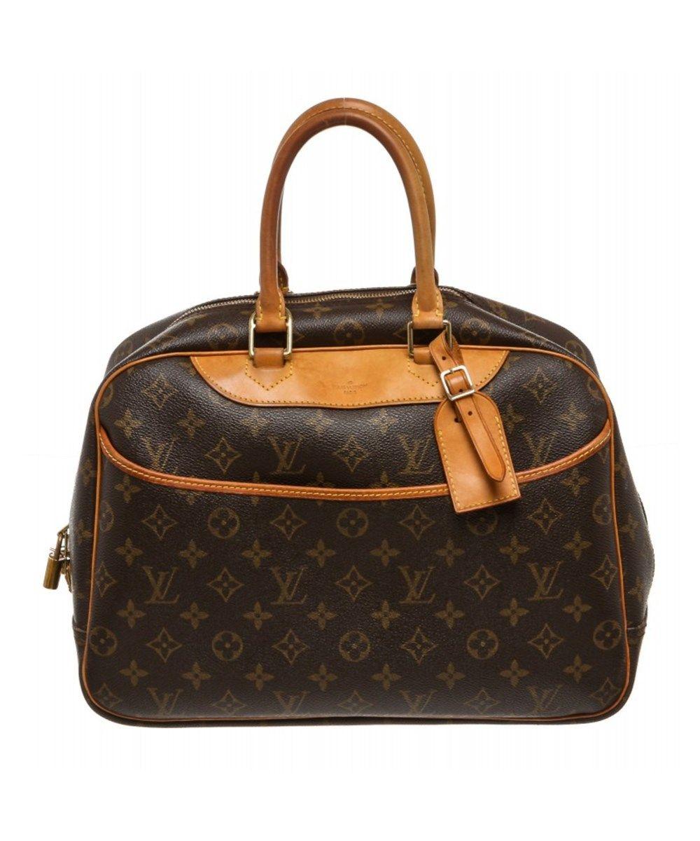 Louis Vuitton Pre Owned Louis Vuitton Monogram Canvas Leather Deauville Doctor Bag Louisvuitton Bags Leather Hand Bags Canvas Louis Vuitton Bags Canvas Leather
